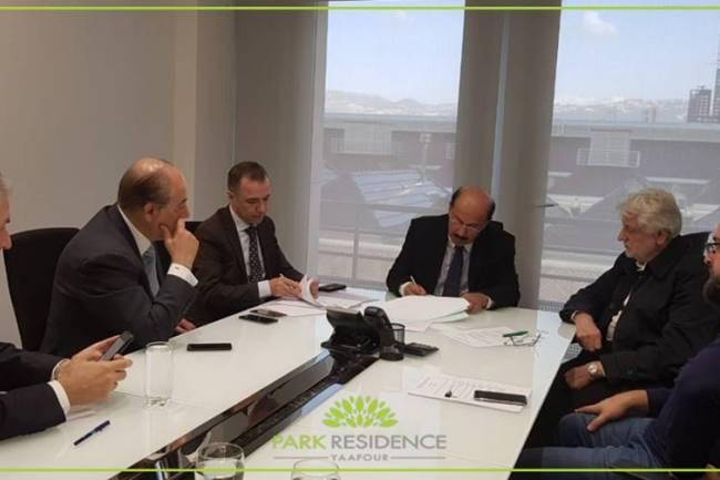 الشركة الكويتية السورية القابضة تعلن عن توقيع عقد أعمال الخرسانة لأول ثمانية أبنية من المرحلة الأولى لمشروع بارك ريزيدنس