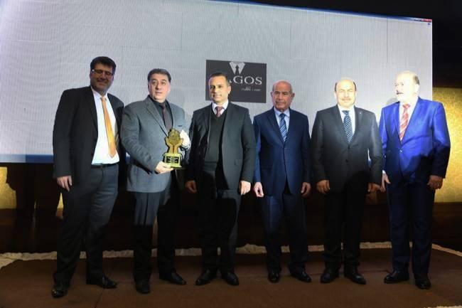 الصناعي سامر رباطة مكرماً في حفل تكريم نخبة رجال أعمال وسيدات سورية لعام 2018