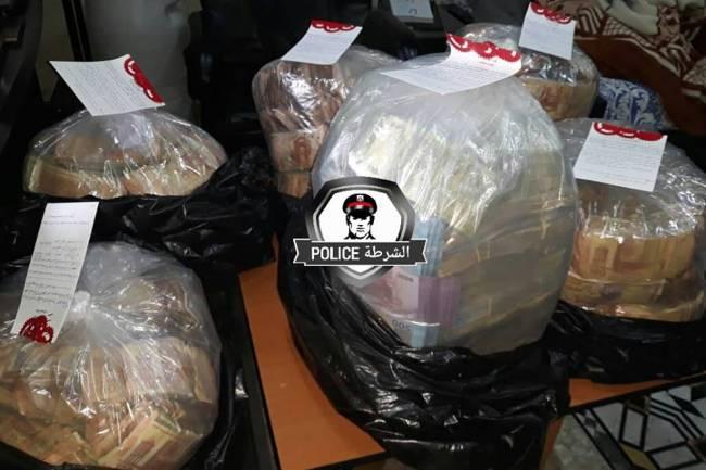 بالصور :القبض على شخص يقوم بتشغيل اولاده الثمانية بالتسول بدمشق ومصادرة  أكثر من /50/ مليون ليرة في منزله