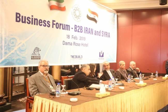 اجتماع لرجال أعمال سوريين وإيرانيين لبحث تعزيز التعاون والاستثمار المشترك