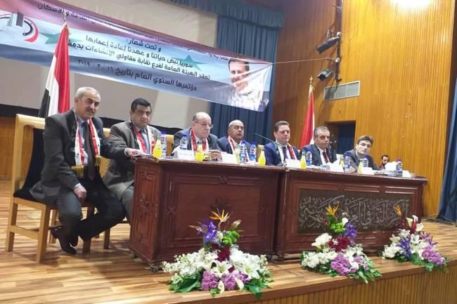 مقاولو دمشق يطرحون مشاكلهم أمام وزير الأشغال