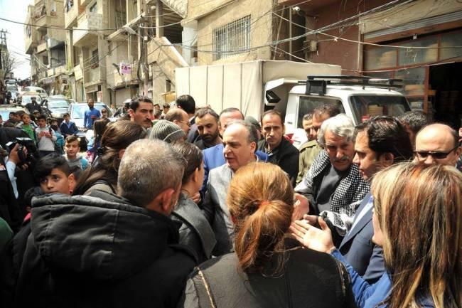 خميس يطالب محافظة دمشق بدراسة فورية لإحداث مناطق تطوير عقاري في أحياء السكن العشوائي