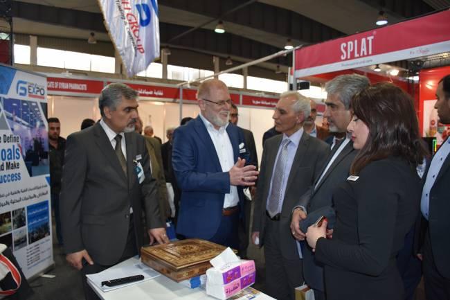 """نحو 90 شركة محلية وعربية وأجنبية  تشارك في المعرض والمؤتمر الدولي """"سيريا هيلث 2019"""""""