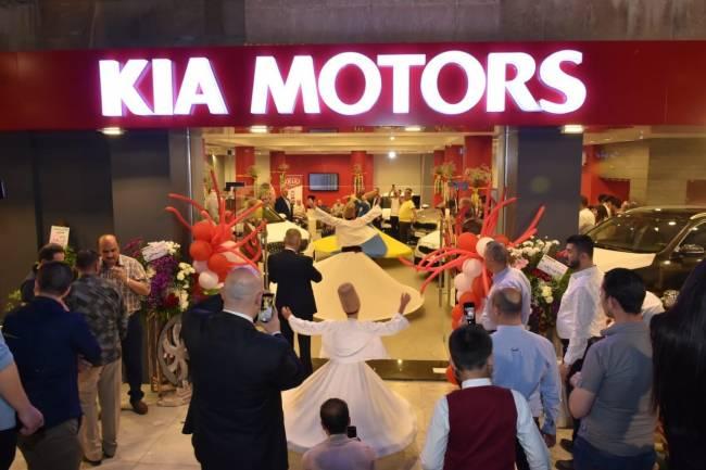 «كيا موتورز» تفتتح صالة جديدة في حلب