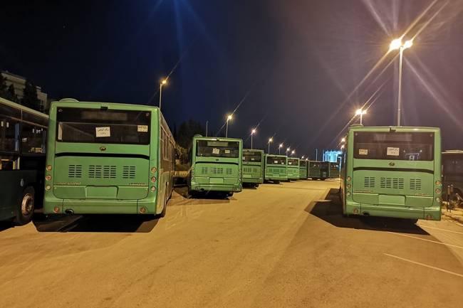سورية تتسلم 100 باص نقل داخلي مقدمة منحة من الحكومة الصينية