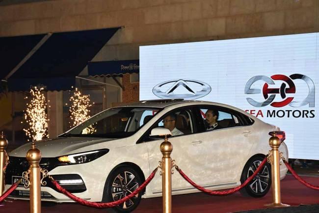 شركة سيا موتورز تطلق سيارة Arrizo6 من (CHERY) في سورية
