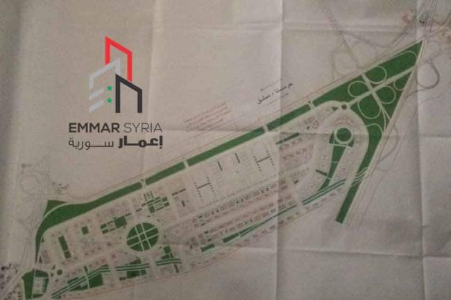 محافظة دمشق تعلن المخطط التنظيمي للقابون الصناعي وجزء من أراضي حرستا