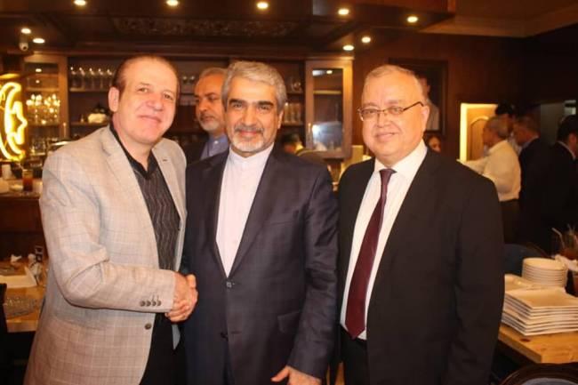 مصان نحاس : توقيع اتفاقيات مع شركات إيرانية لإنشاء معامل للأدوية السرطانية وحليب الأطفال وللسيارات خلال أيام