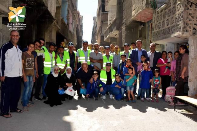 محافظة دمشق : عودة أهالي التضامن إلى بيوتهم بدأت اليوم