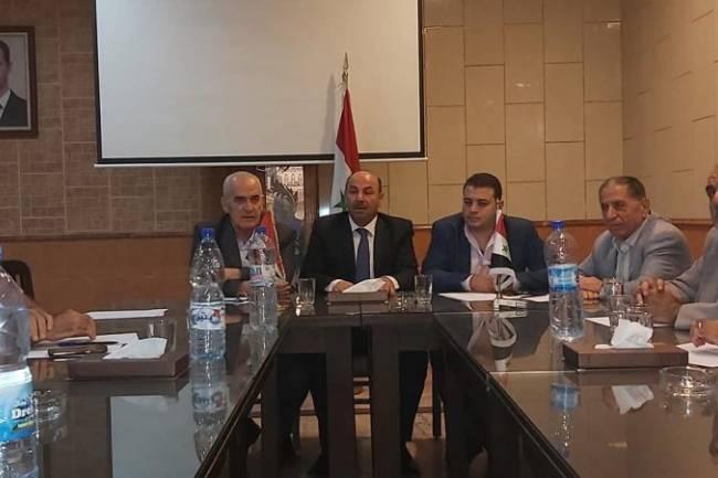 كشتو رئيساً لاتحاد غرف الزراعة السورية لدورة جديدة