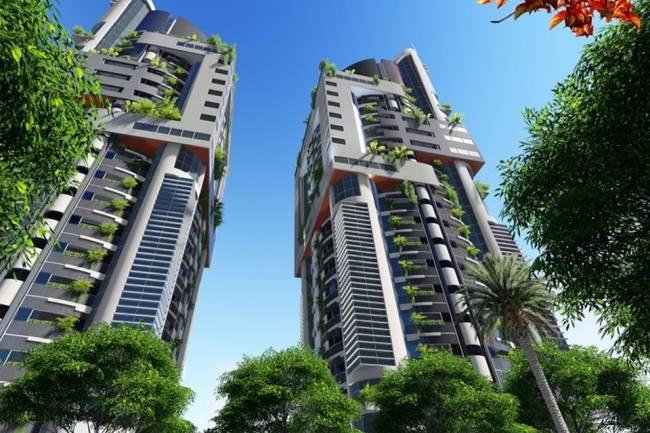 محافظة دمشق تمنح ثاني رخصة بناء لبرج سكني بماروتا سيتي ارتفاعه 20 طابق