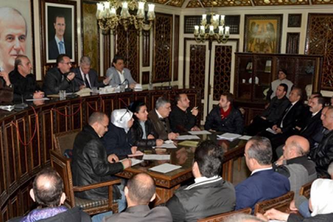 محافظة دمشق: التقصير بتنفيذ ماروتا سيتي سببه مالكو المقاسم