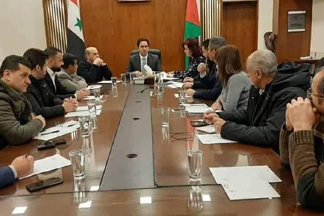المكتب التنفيذي لمجلس محافظة دمشق يعيد توزيع المهام بين أعضاءه