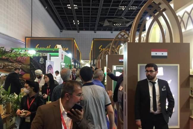 بيتنجانة : موردو غذاء عالميون أبدوا اهتمامهم بالمنتجات السورية في معرض جلفود دبي