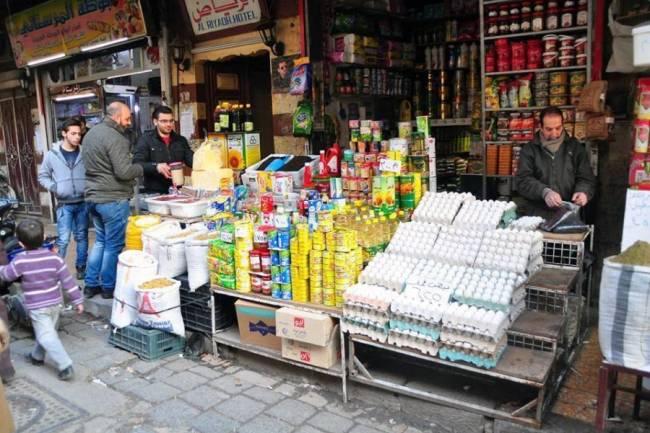 تموين ريف دمشق يحجز منتجات لشركة معدنلي لارتفاع سعرها ويعلن عن طرحها للبيع بالسعر الرسمي