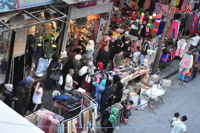 حلب قد تسمح بافتتاح محال الألبسة جزئياً هذا الأسبوع