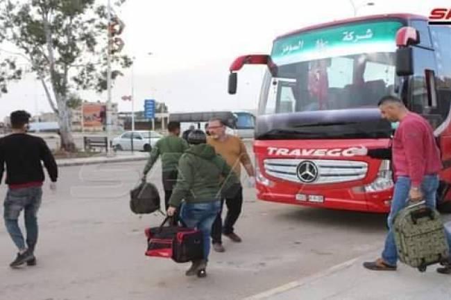 الدباس : وسائل النقل الجماعي ستعمل يومي الإثنين والثلاثاء المقبلين لنقل المسافرين بين المحافظات