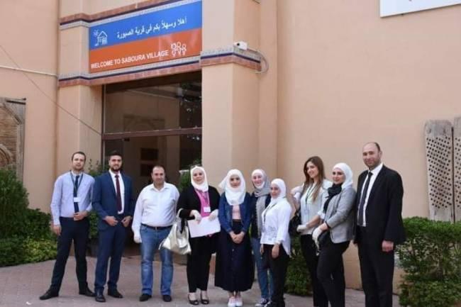بنك سورية الإسلامي يزور قرى الأطفال SOS