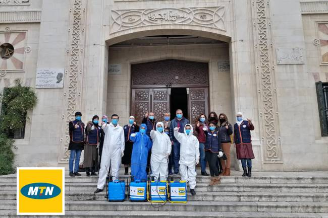 """في إطار دعمها لمشاريع المسؤولية الاجتماعية  MTNترعىحملة""""زيروكورونا""""لتخفيف آثار وباء كوروناعلى المجتمع"""