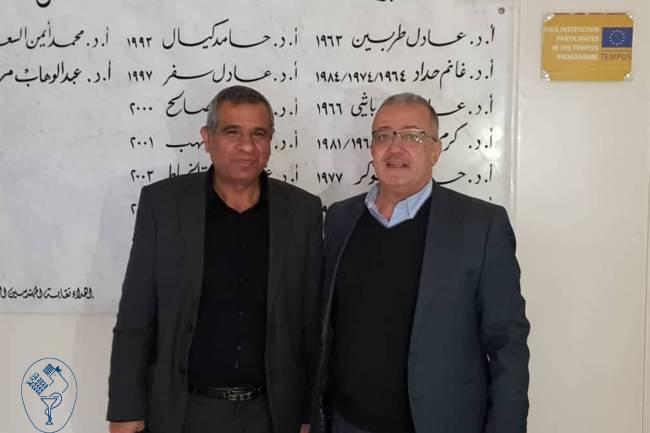 أكما فيد للأدوية البيطرية تقدم  تجهيزات مجانية لكلية الزراعة بجامعة دمشق