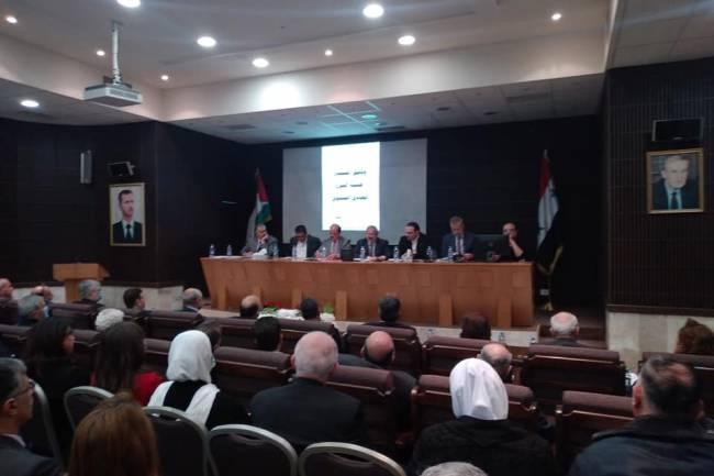 نقيب مهندسي دمشق : سنستمر بالسعي مع الحكومة لزيادة تعويض اختصاص وطبيعة عمل المهندس