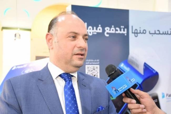 أول بنك يطلق خدمة نقاط البيع (P.O.S) .... بنك سورية الدولي الإسلامي يشارك في معرض تكنولوجيا المعلومات والاتصالات SYRIA HiTech