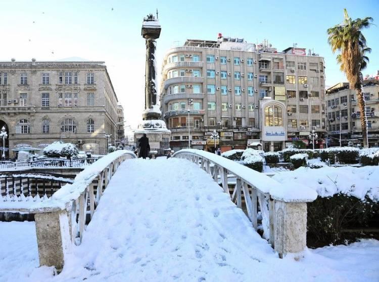خبراء الطقس : توقعات بتأثر سورية بأول منخفض قطبي مثلج قبل نهاية الشهر