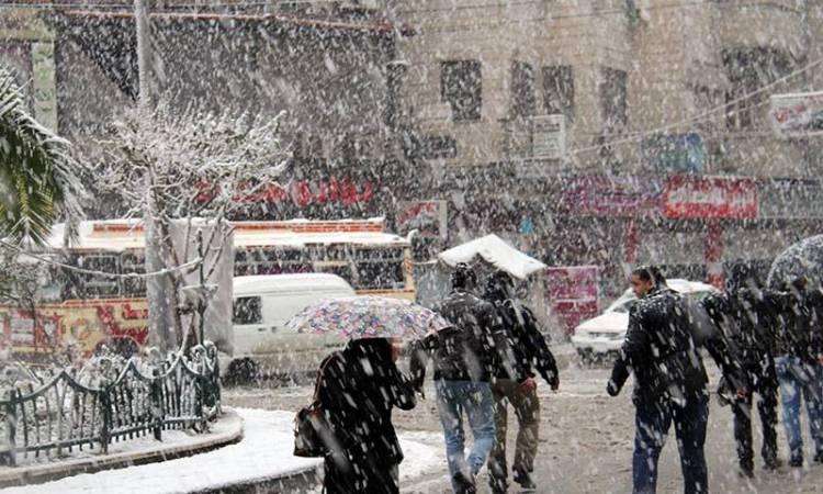 دمشق تحت  تأثير المنخفض القطبي اليوم .. أمطار ظهراً وثلوج ليلاً