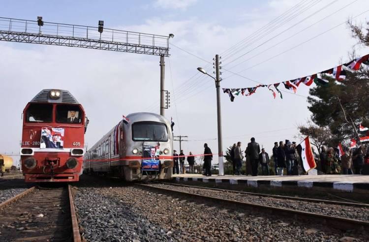 الخطوط الحديدية:  خط قطار دمشق حلب سيعود للعمل خلال هذا العام