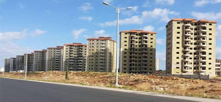 شركة الطرق والجسور تباشر بتنفيذ مشروع بناء 10 أبراج سكنية بالديماس لمؤسسة الإسكان بكلفة تصل لنحو 4.6 مليار ليرة.