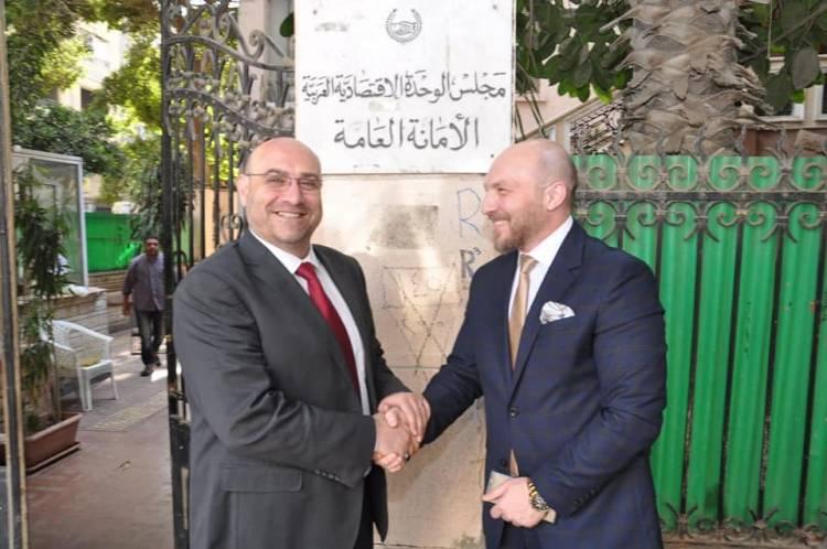 رجل الأعمال السوري الدكتور محمد فرعون رئيساً للاتحاد العربي للتجارة الالكترونية