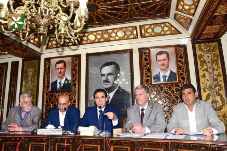 مجلس محافظة دمشق يشكل ثلاث لجان جديدة مؤقتة للاستثمار والمتابعة والأمور القانونية  