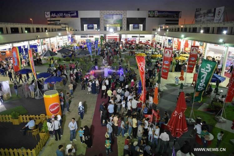 وزارة السياحة تنظم شارع للأكل في معرض دمشق الدولي على مساحة 3 آلاف متر وبأسعار تشجيعية للزوار