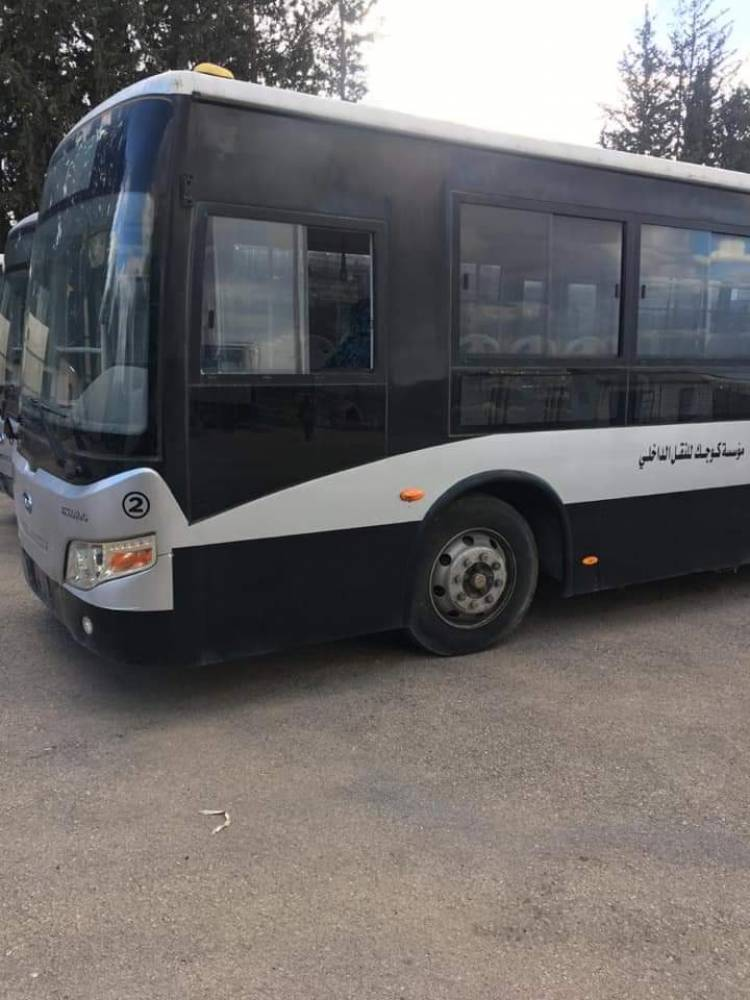 30 باص نقل داخلي جديد لدمشق وريفها توزعت على عدة خطوط .. وشركة خاصة تتولى خط جديد