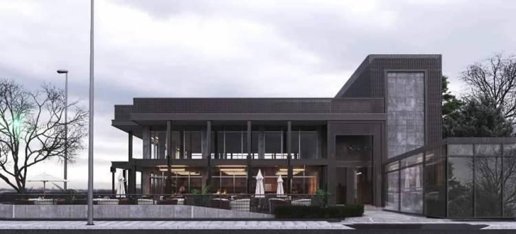 رجل الأعمال حسام تميم  يطلق  مجمع للمطاعم في المزة بمساحة 2,000 متر مربع