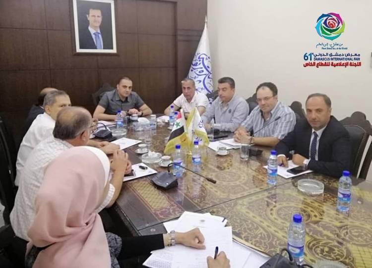 القطان : دعوة  300 تاجر عربي وأجنبي لمعرض دمشق الدولي ووفود تجارية رسمية كبيرة من الإمارات وعمان