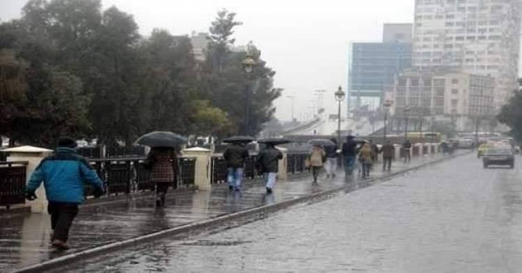 الأرصاد الجوية : منخفض قطبي يؤثر على سورية بدءاً من مساء الغد وحتى الجمعة