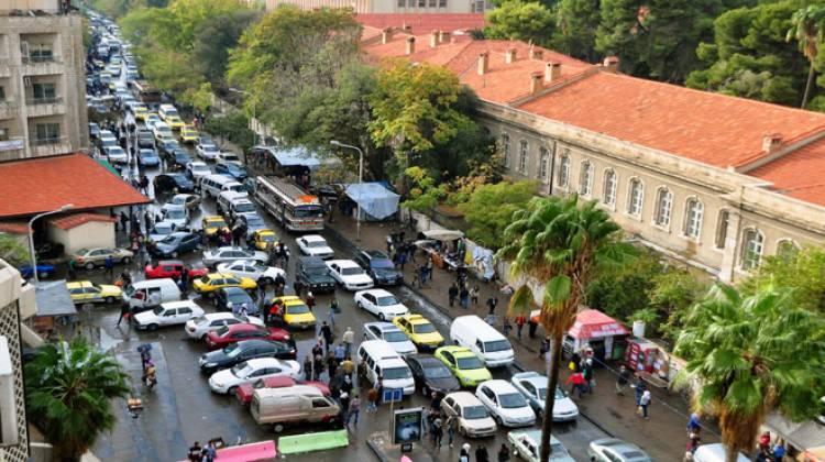 محافظة دمشق: تنفيذ حل مروري لتخفيف الازدحام عند تقاطع البرامكة