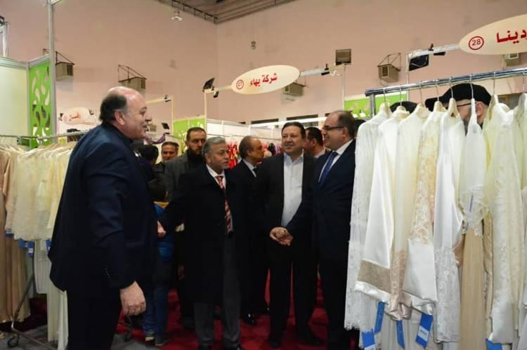 بمشاركة 260 شركة وحضور أكثر من 600 تاجر عربي .. انطلاق معرض صنع في سورية للألبسة والنسيج