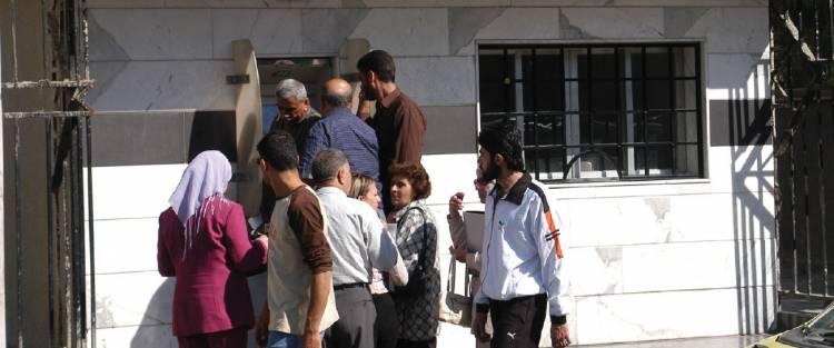 العقاري: تركيب 25 صراف جديد في دمشق …  ويمكن استلام الراتب من مراكز البريد لتجنب الازدحام