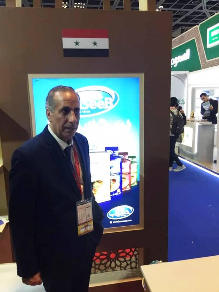 قلعه جي : نحو 37 شركة سورية شاركت بمعرض غلفود عدد منها يشارك للمرة الأولى