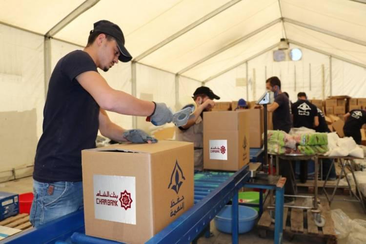 بنك الشام يدعم 200 عائلة خلال شهر رمضان المبارك