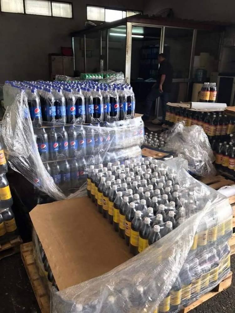 التموين تغلق المستودع الرئيسي لشركة جود للمشروبات الغازية لرفعها أسعار منتجاتها