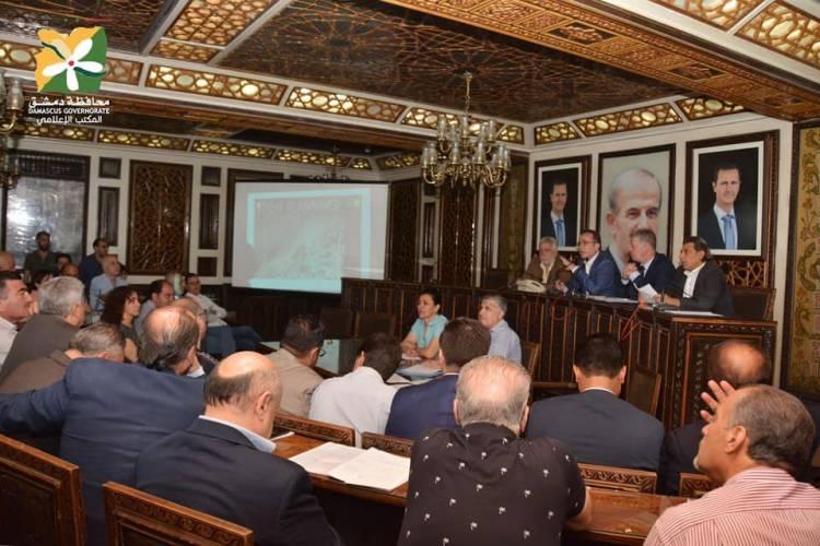 مجلس محافظة دمشق يعلن المصور التنظيمي لمنطقتي القابون السكني واليرموك