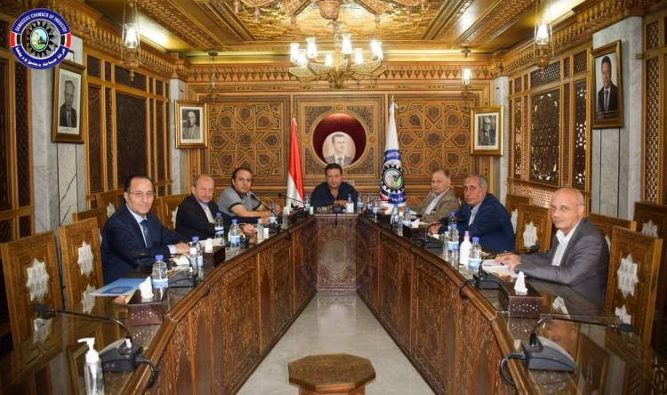 غرفة صناعة دمشق تستعد لتنفيذ مشروع لأتمتة شهادات المنشأ لتناسب اتفاقيات التفضيل الجمركي