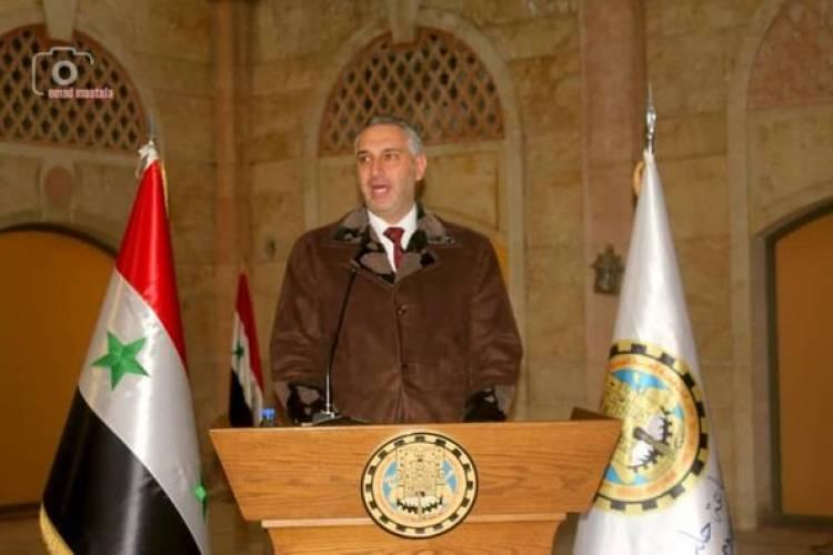 حموي يكشف خطط غرفة تجارة حلب الاستثمارية ومنها برج حلب التجاري وشركة تطوير عقاري