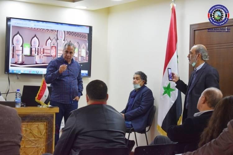قلعه جي : 18 شركة سورية ستشارك ضمن الجناح السوري بمعرض جلفود دبي والعمل على أن يكون من افضل أجنحة المعرض