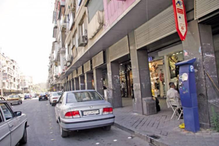 محافظة دمشق تعهد المواقف المأجورة في شوارعها بـ2.1 مليار ليرة سنوياً