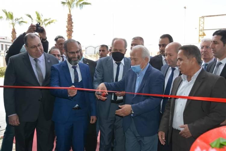 """بحضور لافت لوفود تجارية من العراق والأردن وبمشاركة نحو 100 شركة انطلاق معرضي """"سيريا بلاست"""" و""""كيم اكسبو"""""""