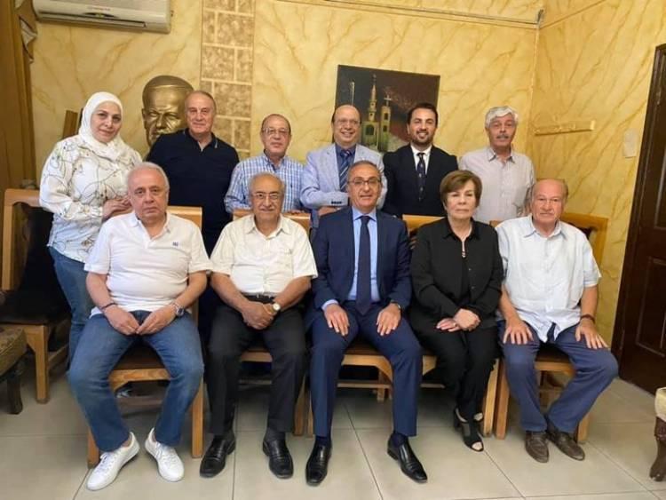 مجلس إدارة جديد لجمعية أصدقاء دمشق برئاسة مازن حمور